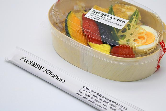 イメージ:日本産の間伐材使用割箸